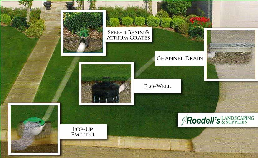 Drainage Amp Irrigation Roedell S Landscaping